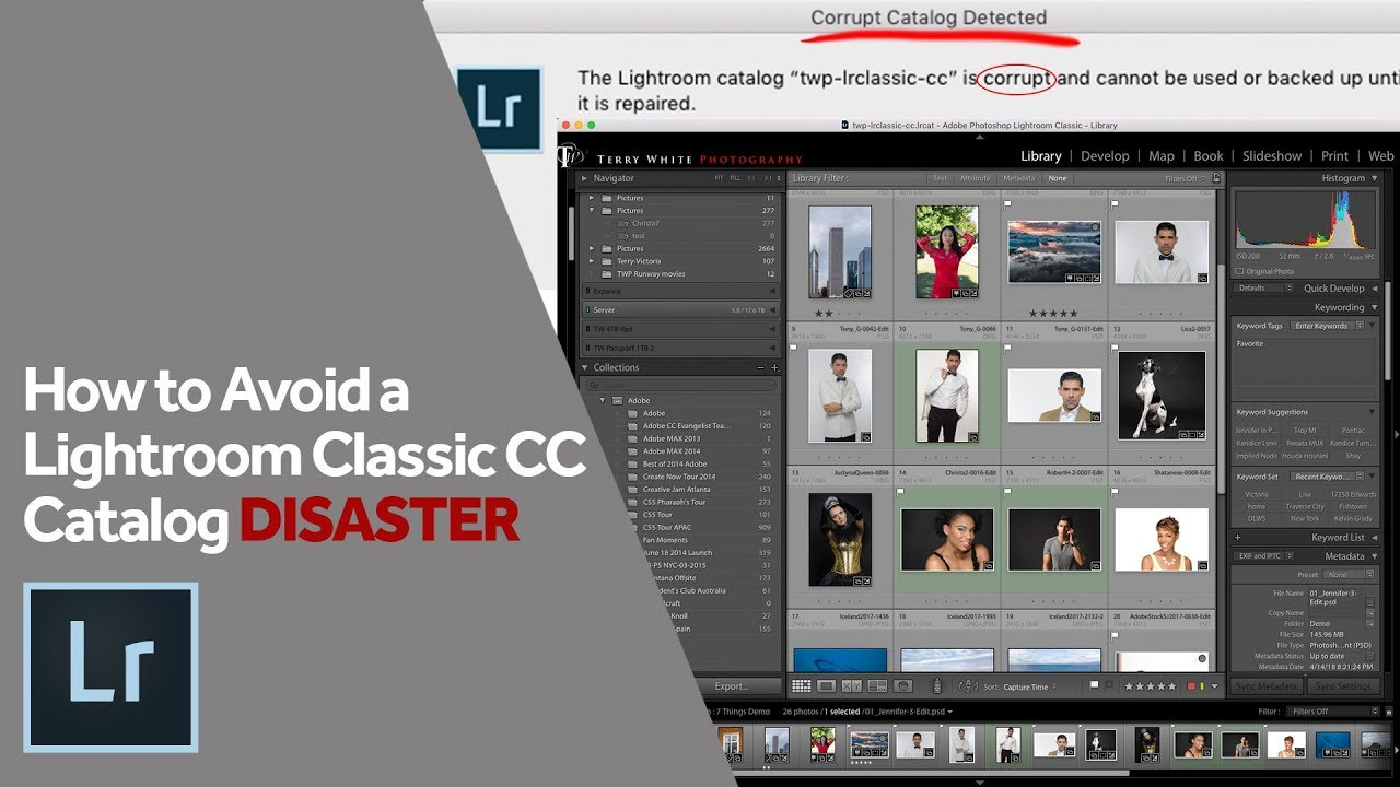 How to Avoid a Lightroom Classic CC Catalog Disaster