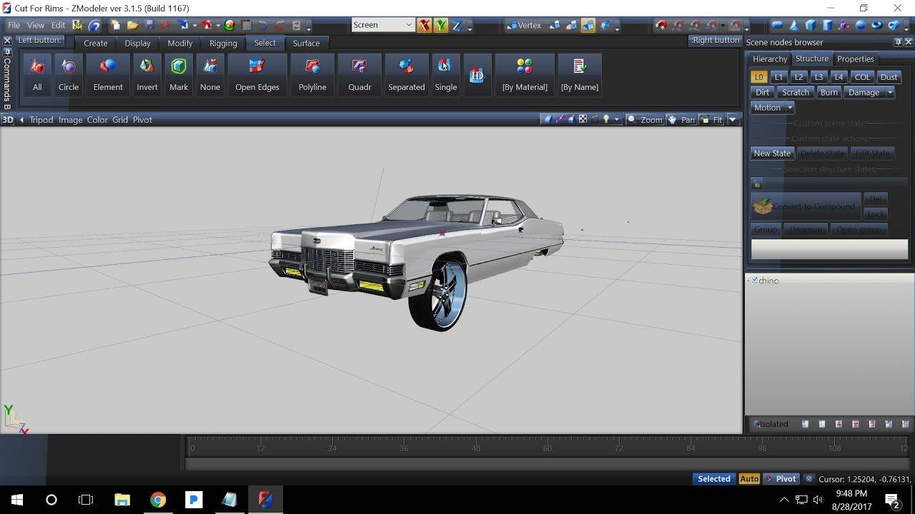 How To Set Correct Door Rotations In Zmodeler 3 For GTA 5