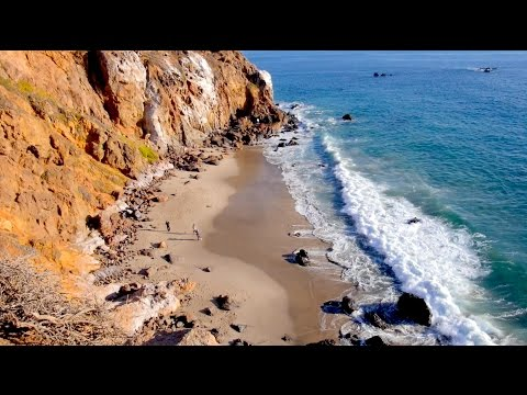 Secret Beaches in Malibu!