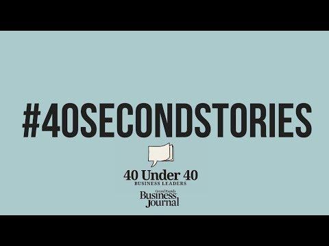 #40SECONDSTORIES - Grand Rapids Business Journal's 40 Under 40 2018 Event
