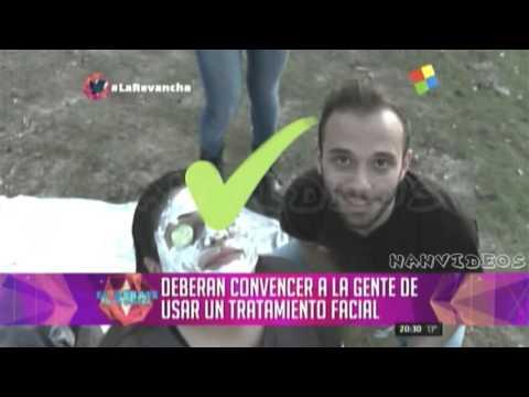 "La Revancha Prime Time 07/08 - Gabriel prueba ""dia de spa"" Gran Hermano 2016"