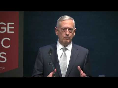Remarks by Secretary of Defense James Mattis