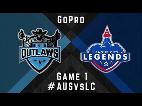 Austin Outlaws v League City Legends - GoPro - Game 1, 2017