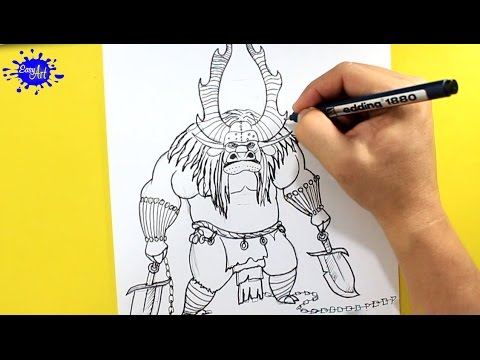 How To Draw Kai Kung Fu Panda Como Dibujar A 3