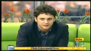 "Christopher Uckermann en ""Muy Buenos Dias"""