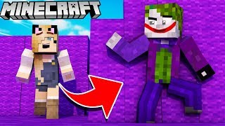 JOKER TROLL?! - ZABAWA W CHOWANEGO W MINECRAFT (Hide and Seek) | Vito vs Bella