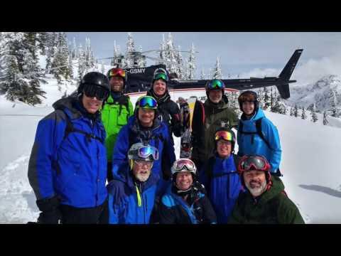 Columbia CMH Heli ski trip  at Revelstoke  skiing the Selkirks and Monashee