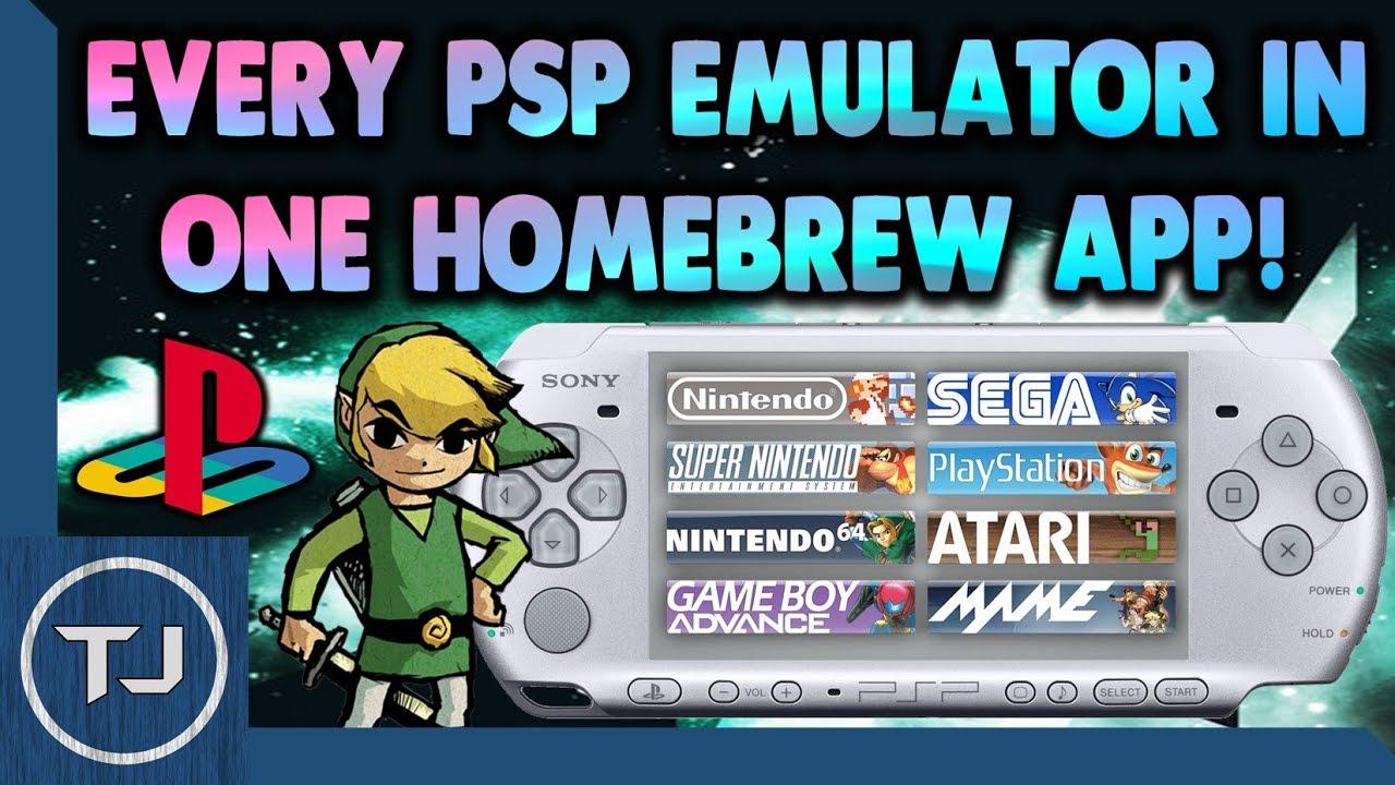 Every Psp Emulator In One Homebrew App Youtube