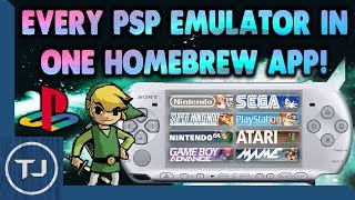 Every PSP Emulator In One Homebrew App!