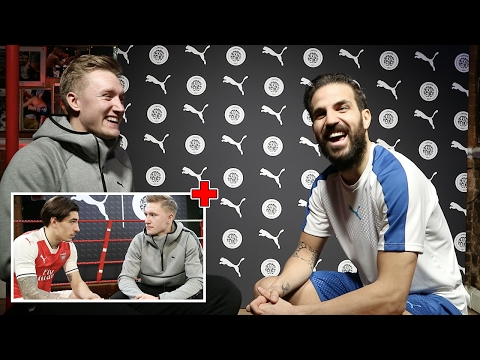 WOULD YOU RATHER with CESC FABREGAS & HECTOR BELLERIN