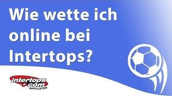 Wie wette ich online bei Intertops? (Intertops Sportwetten Erklärung)