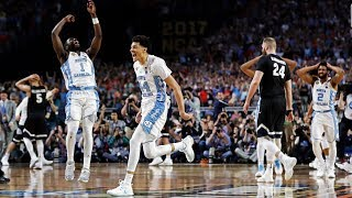 Congratulations to the unc men's basketball team on their 2016-2017 season. it was an honor watching those players accomplish ultimate goal in winning a ...