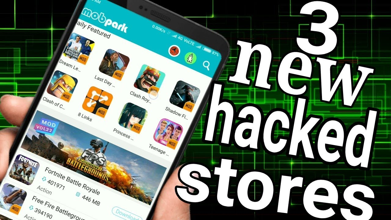 Top 3 Mod App Stores Hindi Android Youtube