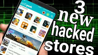 Gambar cover Top 3 mod app stores ( Hindi) android