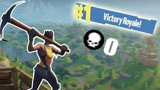 WINNING A GAME WITHOUT USING A WEAPON!! | Fortnite Battle Royale Funny Moments