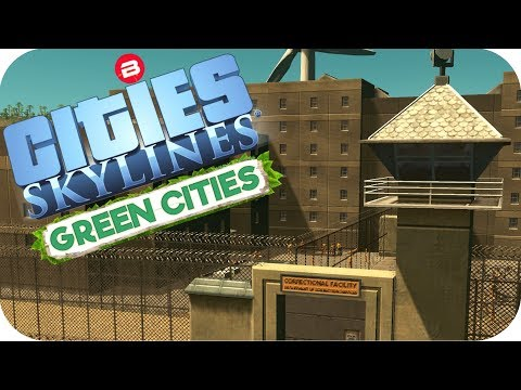 Cities: Skylines Green Cities ▶PRISON MOUNTAIN◀ Cities Skylines Green City DLC Part 23
