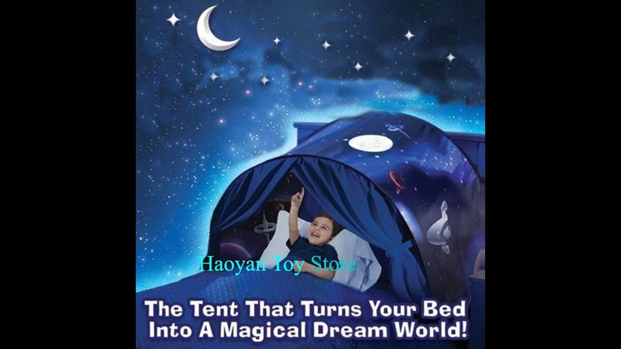 Tente Magique De Rêve Pour Lit Enfant