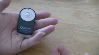 Photive RC-6 Wireless Shutter Release Review