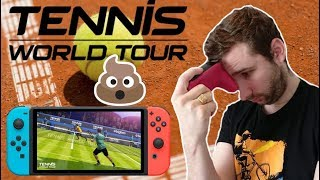 L'HORRIBLE JEU NINTENDO SWITCH : TENNIS WORLD TOUR... (qui pique)