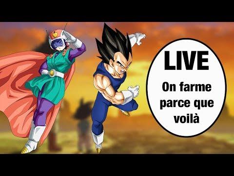 DOKKAN BATTLE - Farm Goku & Aralé LR