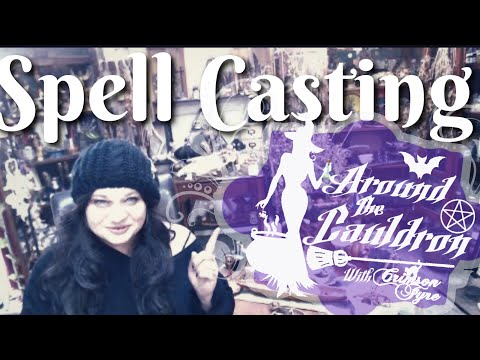 Spell Casting   Around The Cauldron