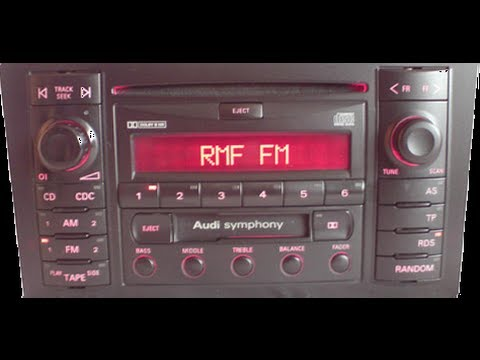 How To Unlock Audi Radio Code Read Safe Mode By Autot