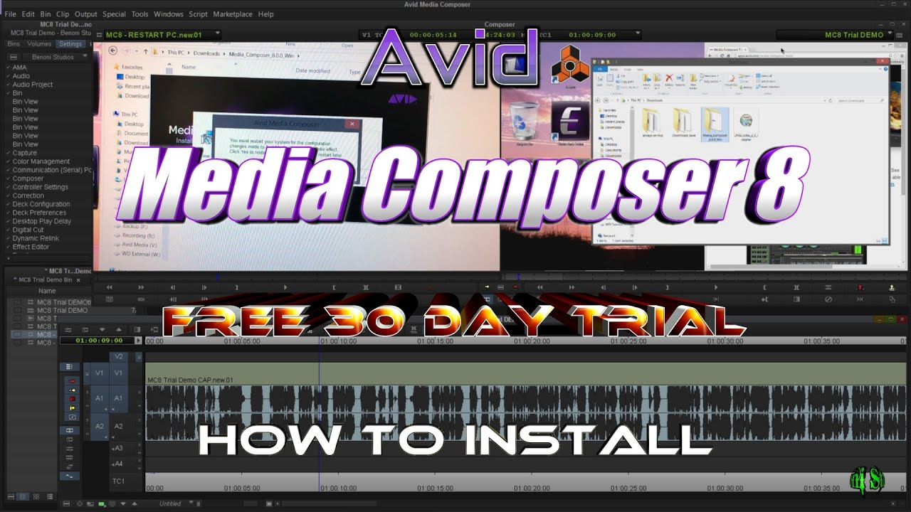 how to open a aaf in media composer