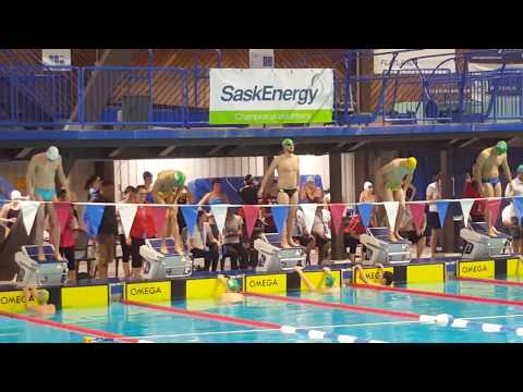 Etienne Paquin-Foisy debut with UofR Cougar Swim Team