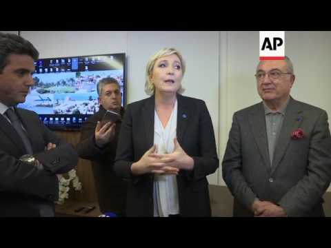 French far right leader Le Pen visits Lebanon