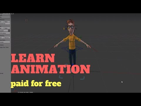 Learn animation -watch paid videos for free