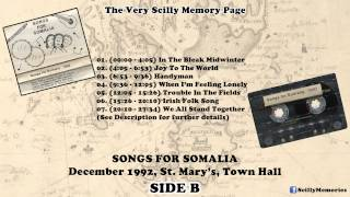 Audio Cassette: Songs For Somalia (1992) - SIDE B (December, 1992, St. Mary