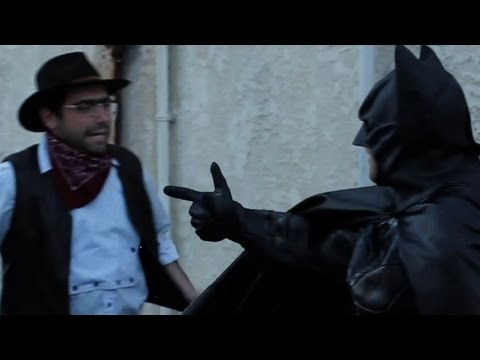 Batman: Dark Knight Theme Song FIGHT Behind the Scenes Take 2 - Goldentusk