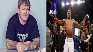 """BREAKING NEWS: ANTHONY JOSHUA DESTROYED BY RICKY HATTON,""""U HAD YOUR CHANCE"""" U HAGGLED ITS FURY TIME"""
