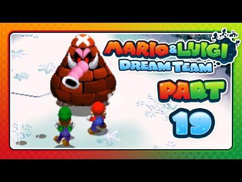 Mario & Luigi: Dream Team - Part 19: DON'T SNEEZE LUIGI!
