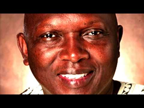 Dr Abdoulaye Saine. Gambian Political Science Professor, Author, & Human Rights Activist