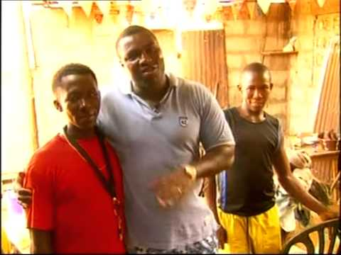 News from tv 2, from alton Bendus trip to Sierra Leone