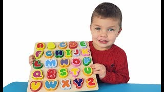 Richard Play with Alphabet toys for kids
