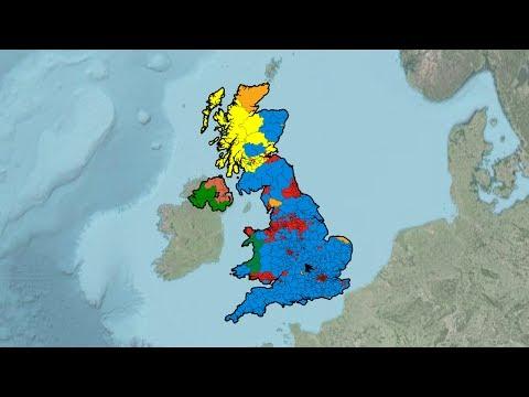United Kingdom General Election Results (1945-2017)