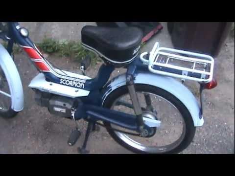 1978 Scorpion Moped Runs Youtube