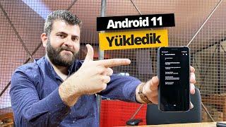 Android 11 yükledik! İşte Android 11 özellikleri!