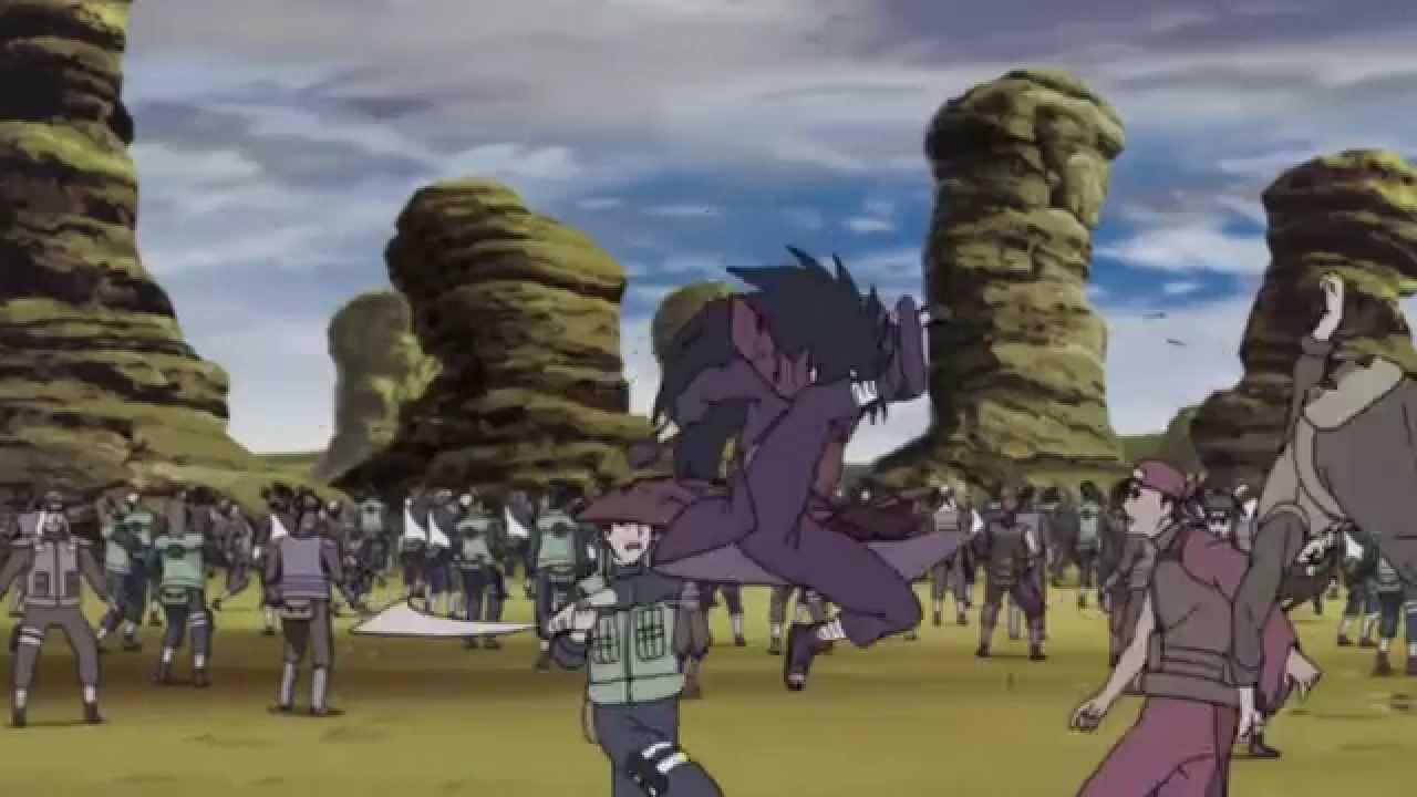 Image result for madara vs shinobi alliance
