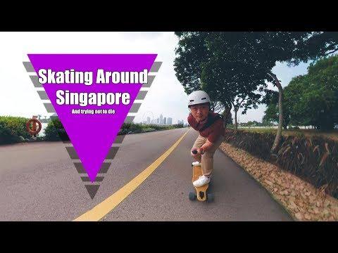 Skating Around Singapore