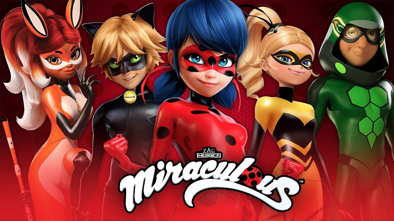 Miraculous Los Herois As Aventuras De Ladybug Youtube
