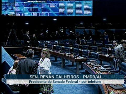Em entrevista à Rádio Senado, Renan diz que não exporá a democracia nem a presidente