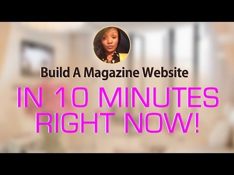 BYOW: How To Build Your Magazine Website With Wordpress and Site5 in 10 Minutes
