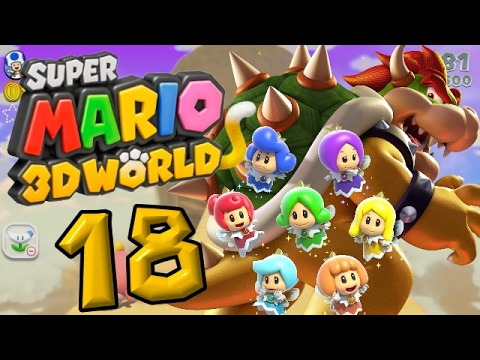 Super Mario 3D World Part 18: Ist Bowser besiegt?