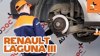 Wie RENAULT LAGUNA III Grandtour (KT0/1) Benzinfilter auswechseln - Tutorial