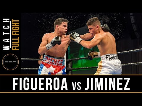 Figueroa vs Jimenez FULL FIGHT: September 26, 2017 - PBC on