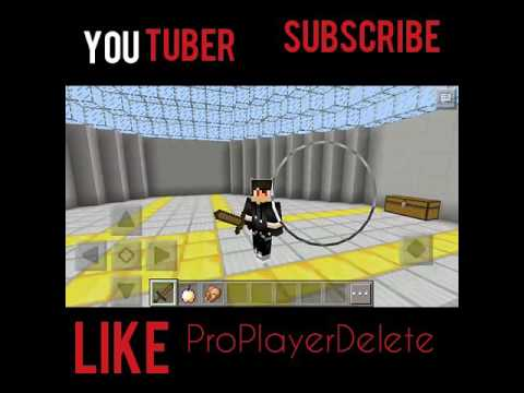 Minecraft PE ProPlayerDelete A OVER LETTER SIGN