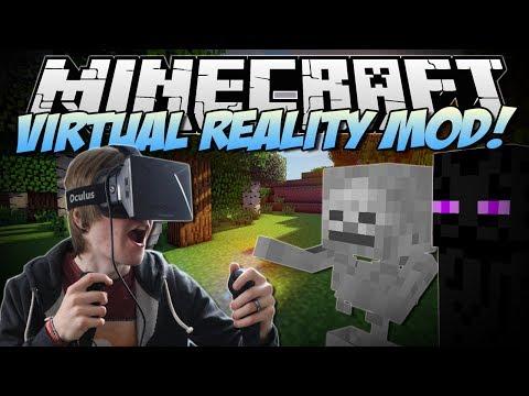 Minecraft | VIRTUAL REALITY MOD! (Razer Hydra & Oculus Rift!) | Mod Showcase
